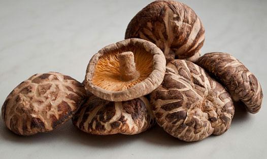 Сушёные грибы Шиитаке